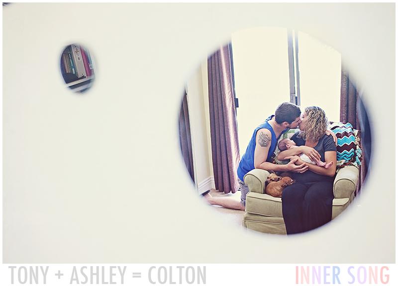 San Diego Newborn Photography //  Petrille's +1 // Welcome Colton!