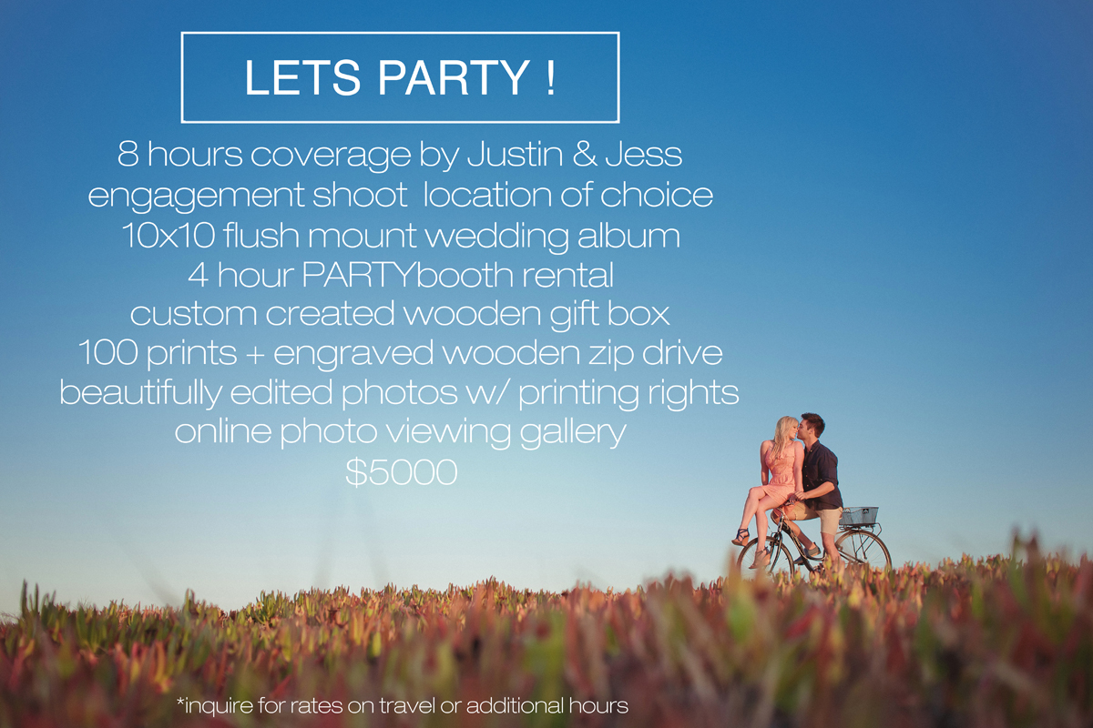 temecula wedding photography packages