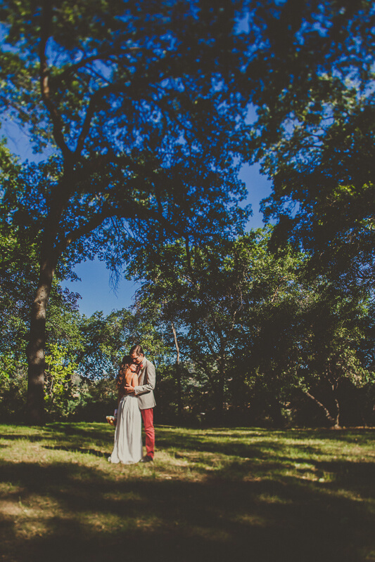 Los Rios Rancho Wedding, Oak Glen