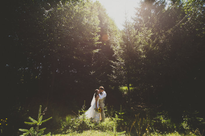 Destination Wedding : Carnation Tree Farm, Washington