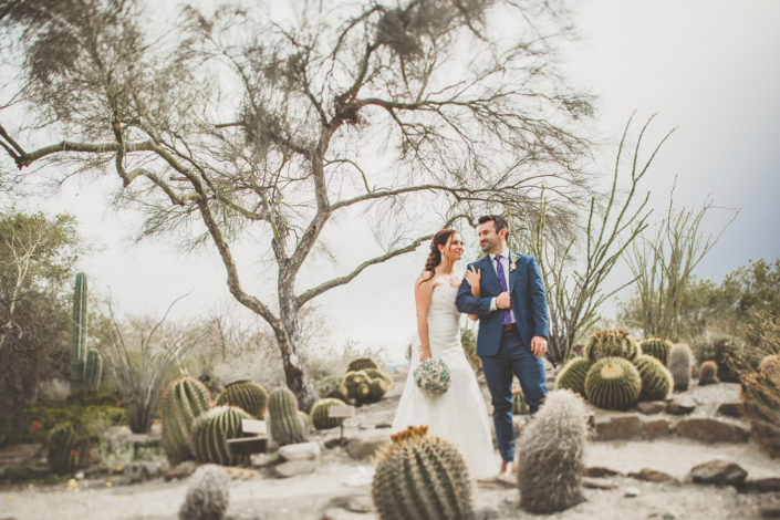 Living Desert Wedding Photos