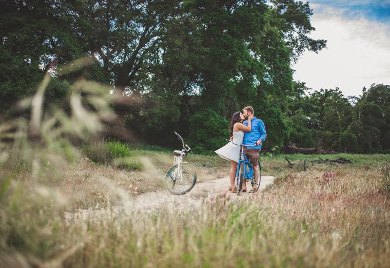 temecula bike engagement photos